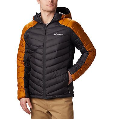 Men's Horizon Explorer™ Hooded Jacket Horizon Explorer™ Hooded Jacket | 397 | S, Shark, Burnished Amber, front