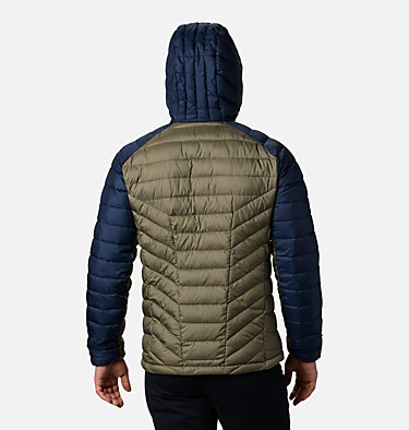Men's Horizon Explorer™ Hooded Jacket Horizon Explorer™ Hooded Jacket | 397 | S, Stone Green, Collegiate Navy, back