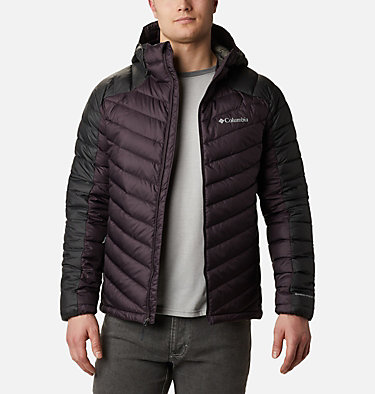 Chaqueta con capucha Horizon Explorer™ para hombre Horizon Explorer™ Hooded Jacket | 397 | S, Dark Purple, Shark, front