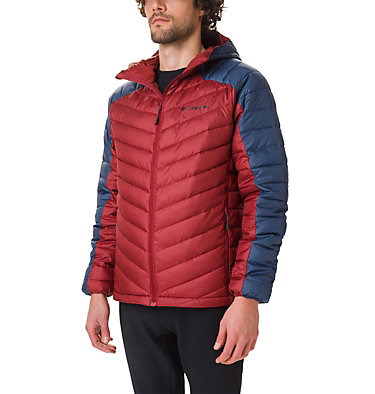 Chaqueta con capucha Horizon Explorer™ para hombre Horizon Explorer™ Hooded Jacket | 397 | S, Red Jasper, Dark Mountain, front