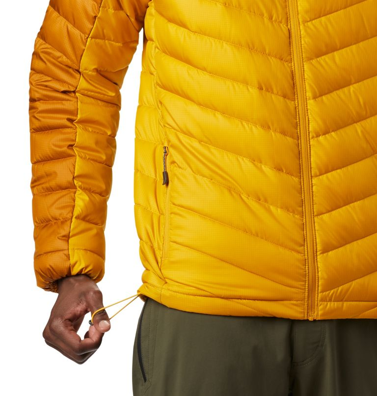 Horizon Explorer™ Hooded Jacke | 705 | XL Veste À Capuche Horizon Explorer™ Homme, Golden Yellow, Burnished Amber, a1