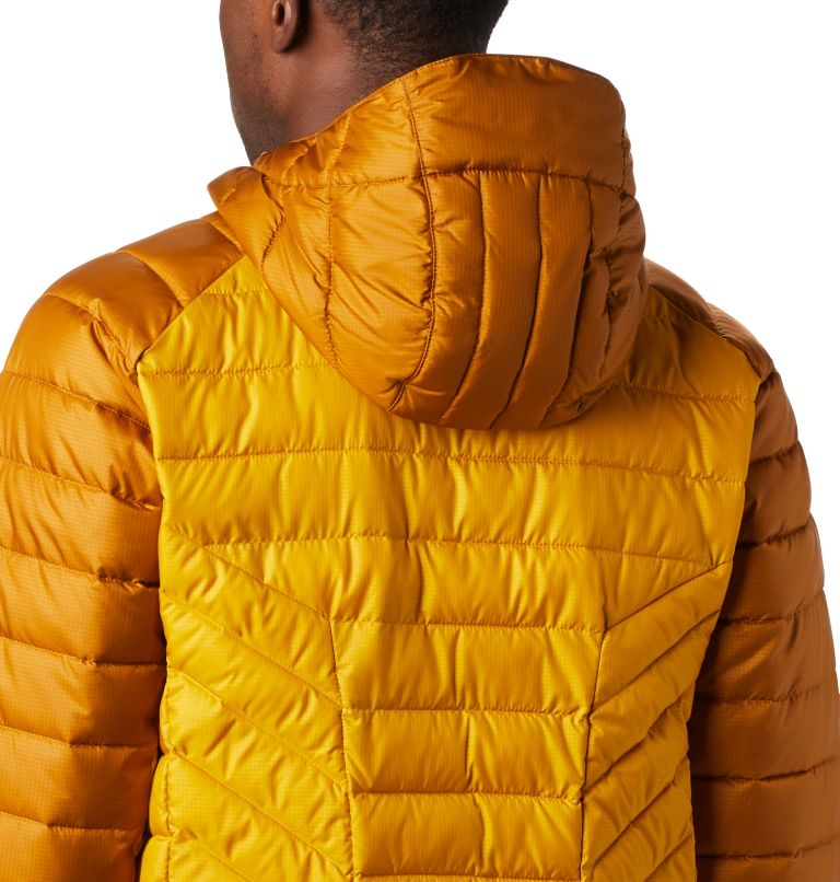 Horizon Explorer™ Hooded Jacke | 705 | XL Veste À Capuche Horizon Explorer™ Homme, Golden Yellow, Burnished Amber, a2