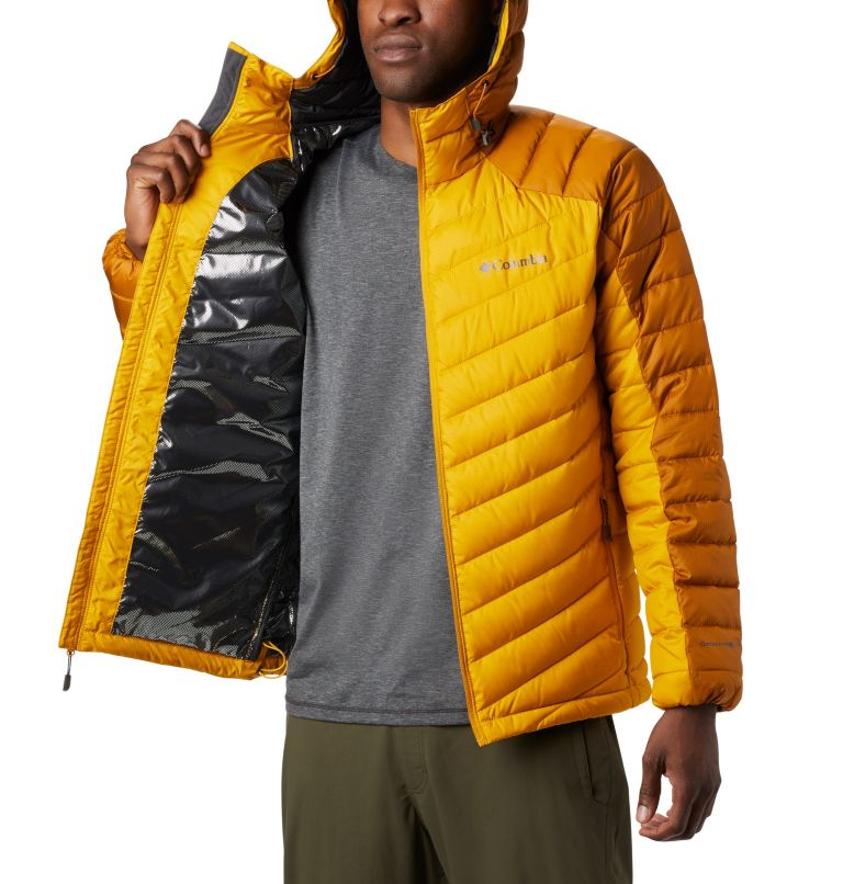 Horizon Explorer™ Hooded Jacke | 705 | XL Veste À Capuche Horizon Explorer™ Homme, Golden Yellow, Burnished Amber, a3