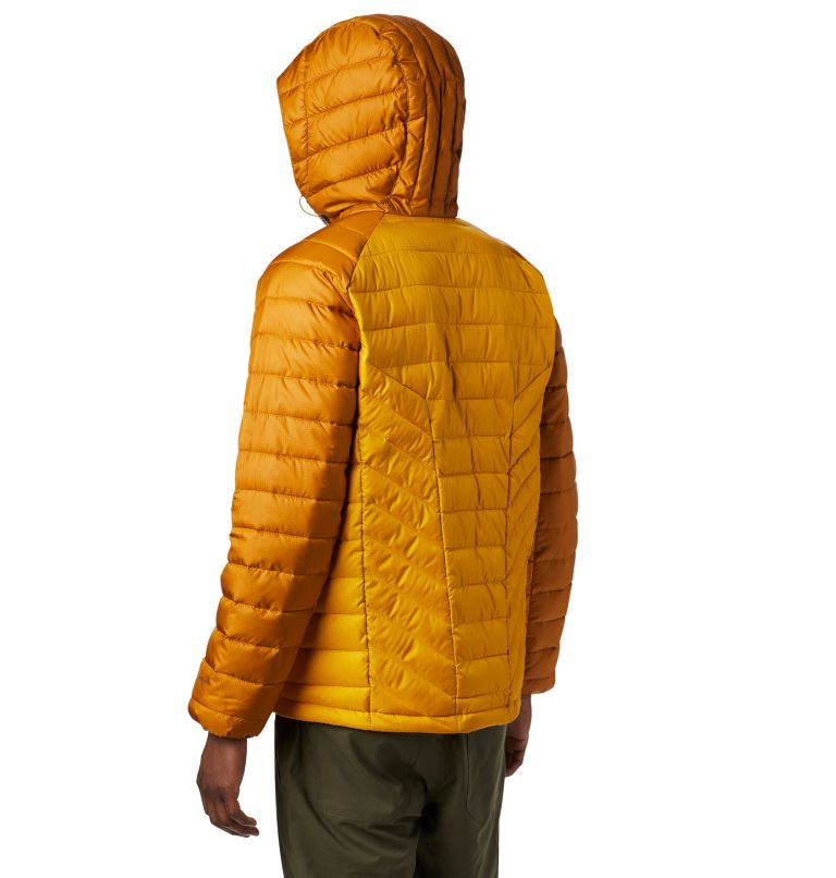 Horizon Explorer™ Hooded Jacke | 705 | XL Veste À Capuche Horizon Explorer™ Homme, Golden Yellow, Burnished Amber, back
