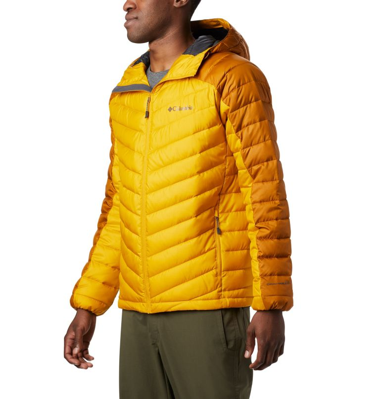 Horizon Explorer™ Hooded Jacke | 705 | XL Veste À Capuche Horizon Explorer™ Homme, Golden Yellow, Burnished Amber, front