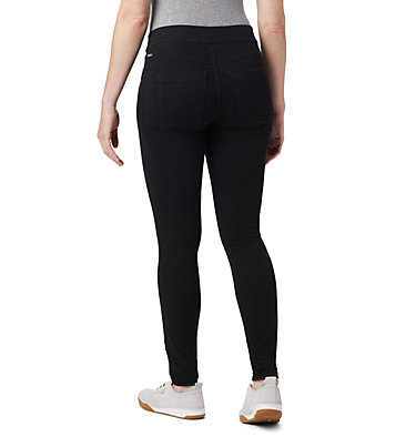 Women's Pinnacle Peak™ Twill Leggings Pinnacle Peak™ Twill Legging | 010 | XS, Black Wash Denim, back
