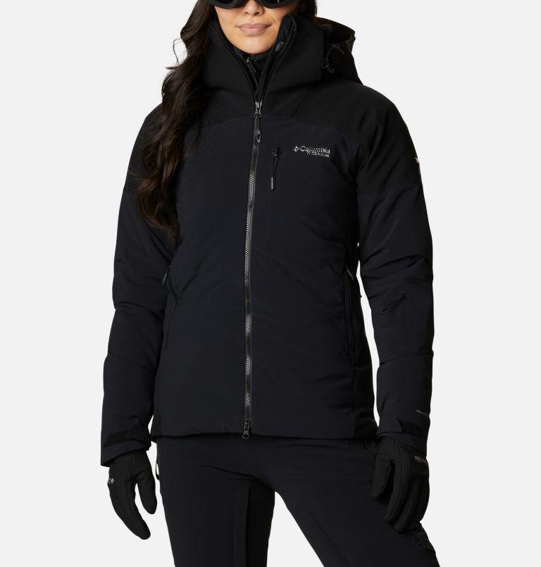 Powder Keg™ II Down Jacket | 010 | XS Women's Powder Keg™ II Ski Down Jacket, Black, front