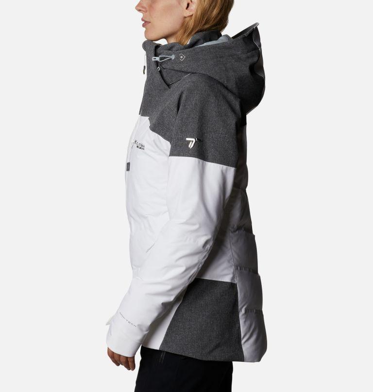 Powder Keg™ II Down Jacket | 101 | XL Women's Powder Keg™ II Ski Down Jacket, White, Cirrus Grey, a1
