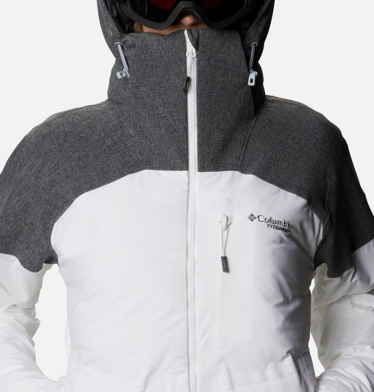 Powder Keg™ II Down Jacket | 101 | XL Women's Powder Keg™ II Ski Down Jacket, White, Cirrus Grey, a2