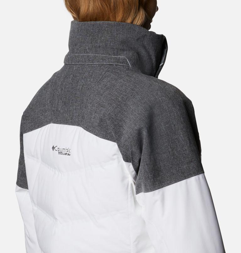 Powder Keg™ II Down Jacket | 101 | XL Women's Powder Keg™ II Ski Down Jacket, White, Cirrus Grey, a6