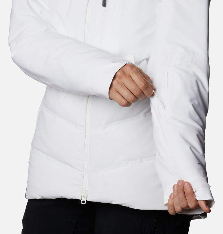 Powder Keg™ II Down Jacket | 101 | XL Women's Powder Keg™ II Ski Down Jacket, White, Cirrus Grey, a7