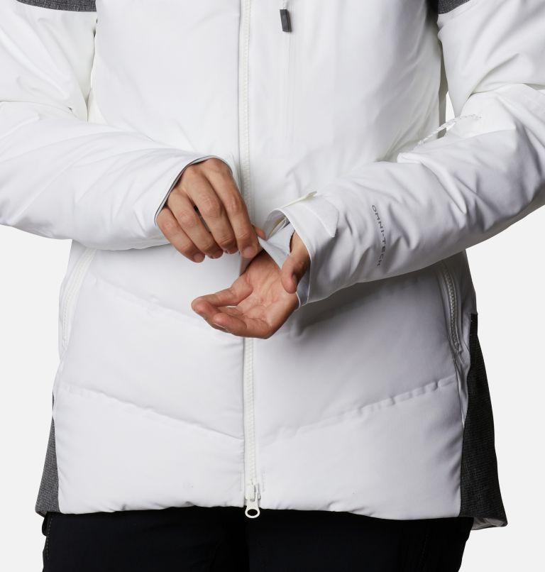 Powder Keg™ II Down Jacket | 101 | XL Women's Powder Keg™ II Ski Down Jacket, White, Cirrus Grey, a8