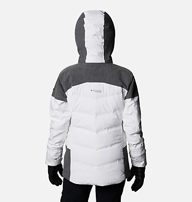 Powder Keg™ II Daunenjacke für Frauen Powder Keg™ II Down Jacket | 010 | L, White, Cirrus Grey, back