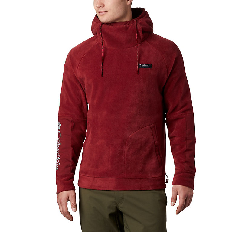Red Jasper Men's CSC Fleece™ Hoodie, View 0