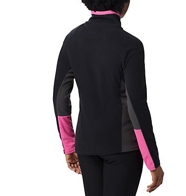 Women's TTIP Glacial™ 1/2 Zip Top Fleece TTIP Glacial™ 1/2 Zip | 618 | L, Black, Shark, back