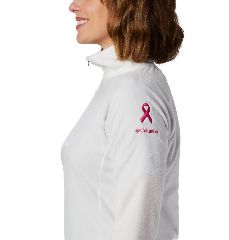 TTIP Glacial™ 1/2 Zip | 125 | M Women's TTIP Glacial™ 1/2 Zip Top Fleece, Sea Salt, Pink Ice, a1