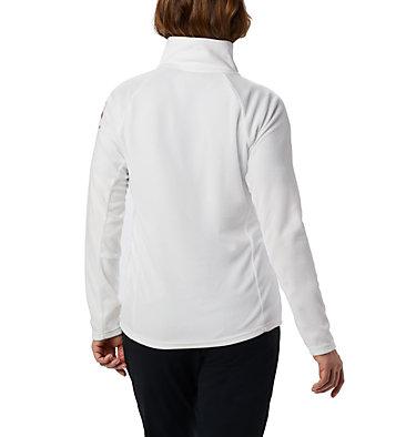 Women's TTIP Glacial™ 1/2 Zip Top Fleece TTIP Glacial™ 1/2 Zip | 125 | L, Sea Salt, Pink Ice, back