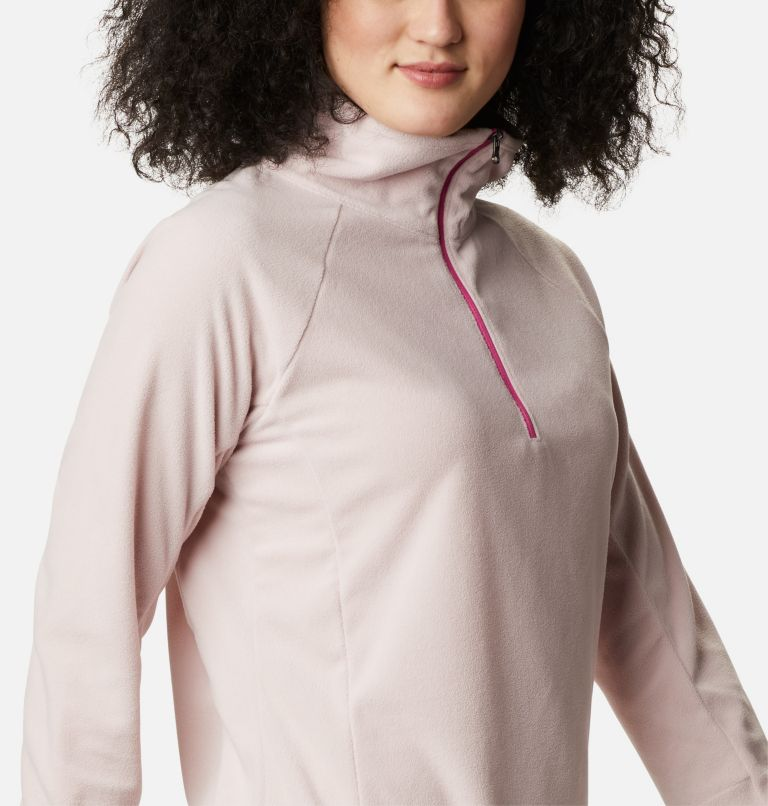 TTIP Glacial™ 1/2 Zip | 618 | M Women's TTIP Glacial™ 1/2 Zip Top Fleece, Mineral Pink, a3