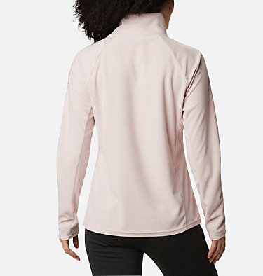 Women's TTIP Glacial™ 1/2 Zip Top Fleece TTIP Glacial™ 1/2 Zip | 618 | L, Mineral Pink, back