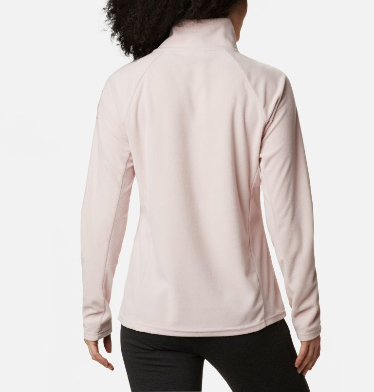 TTIP Glacial™ 1/2 Zip | 618 | M Women's TTIP Glacial™ 1/2 Zip Top Fleece, Mineral Pink, back