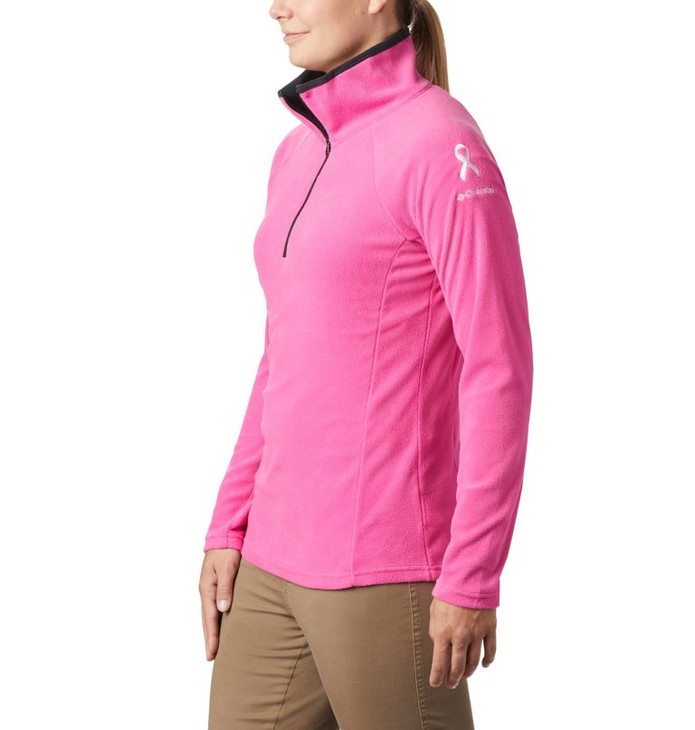 TTIP Glacial™ 1/2 Zip | 695 | XS Women's TTIP Glacial™ 1/2 Zip Top Fleece, Pink Ice, Black, a1