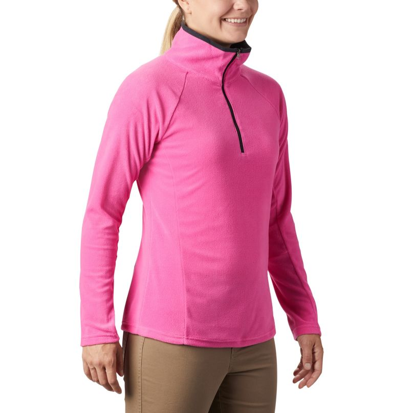 TTIP Glacial™ 1/2 Zip | 695 | XS Women's TTIP Glacial™ 1/2 Zip Top Fleece, Pink Ice, Black, a3