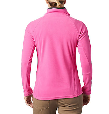 Women's TTIP Glacial™ 1/2 Zip Top Fleece TTIP Glacial™ 1/2 Zip | 618 | L, Pink Ice, Black, back