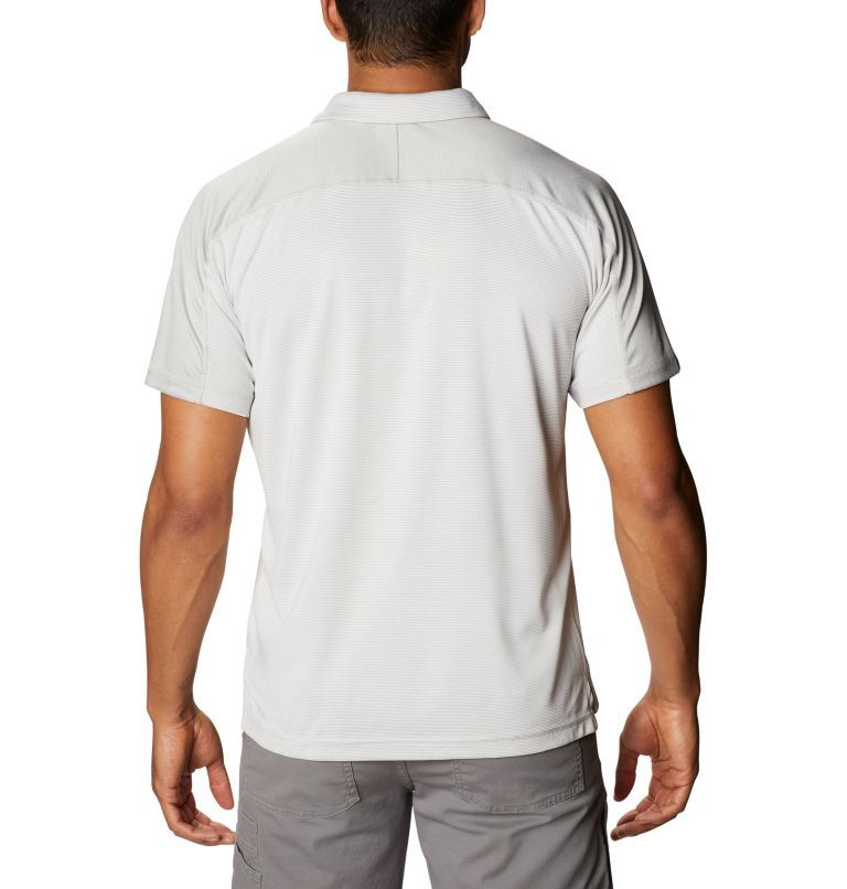 Summit View™ Polo | 019 | XXL Men's Summit View™ Polo, Cool Grey Heather, back