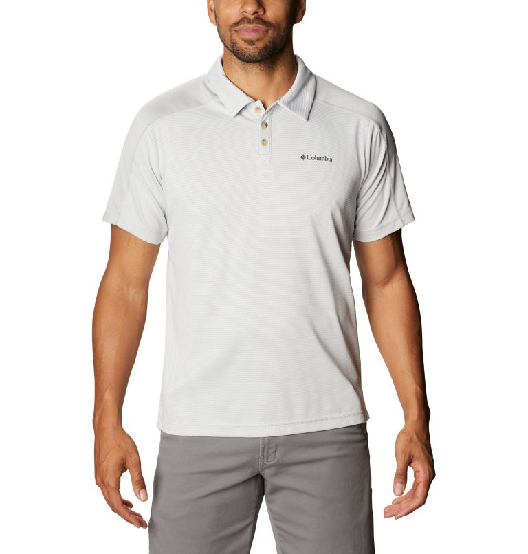 Summit View™ Polo | 019 | XXL Men's Summit View™ Polo, Cool Grey Heather, front