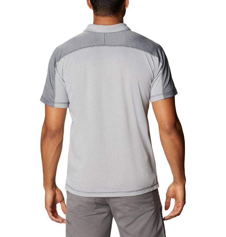 Summit View™ Polo | 053 | M Men's Summit View™ Polo, Graphite Heather, back