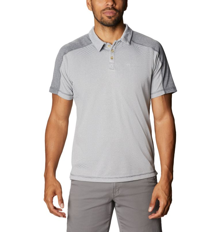 Summit View™ Polo | 053 | M Men's Summit View™ Polo, Graphite Heather, front