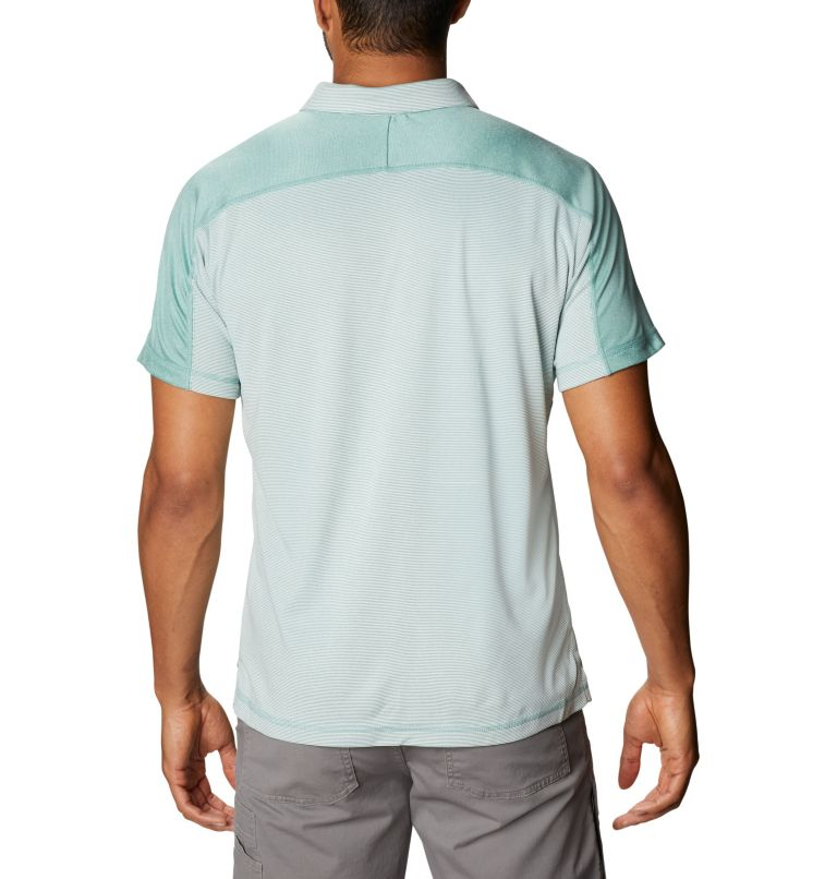 Summit View™ Polo | 344 | XXL Men's Summit View™ Polo, Copper Ore Heather, back