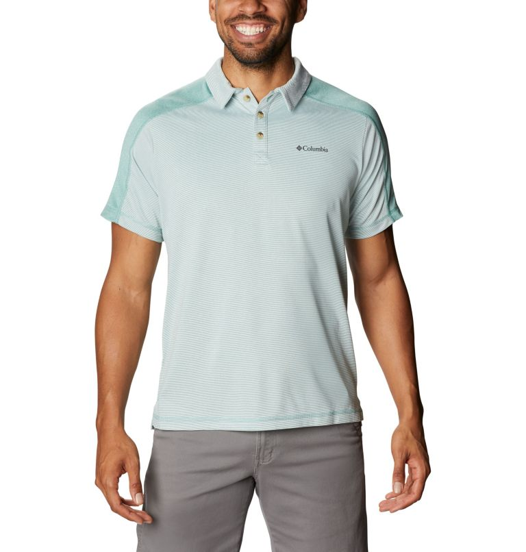Summit View™ Polo | 344 | XXL Men's Summit View™ Polo, Copper Ore Heather, front