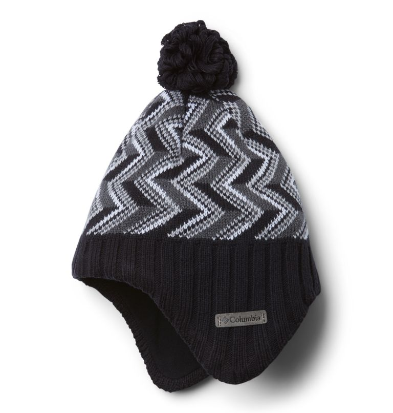 Youth Winter Worn™ II Peruvian | 012 | O/S Bonnet Péruvien Winter Worn™ II Junior, Black Chevron, front