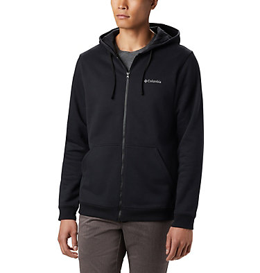 Men's Hart Mountain™ Full Zip Hoodie Hart Mountain™ Full Zip | 449 | XXL, Black, front