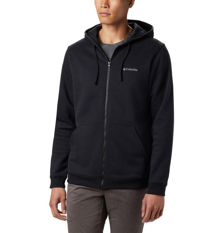 Hart Mountain™ Full Zip | 010 | L Men's Hart Mountain™ Full Zip Hoodie, Black, front