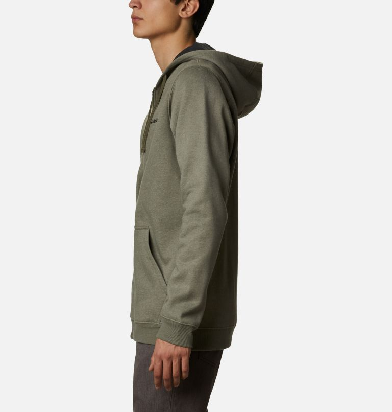 Hart Mountain™ Full Zip | 397 | S Men's Hart Mountain™ Full Zip Hoodie, Stone Green Heather, a1