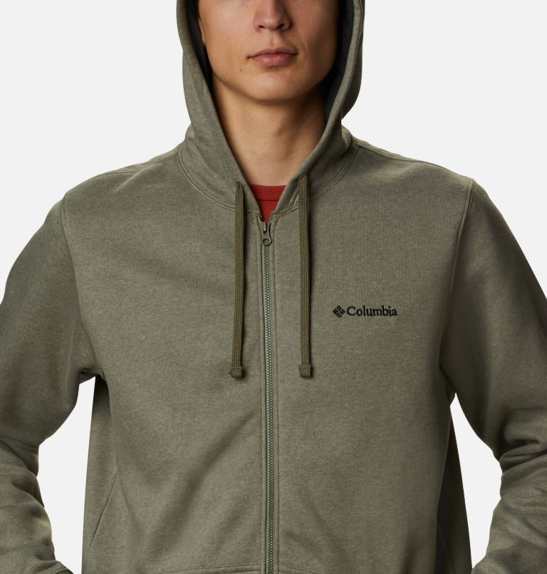 Hart Mountain™ Full Zip | 397 | S Men's Hart Mountain™ Full Zip Hoodie, Stone Green Heather, a2