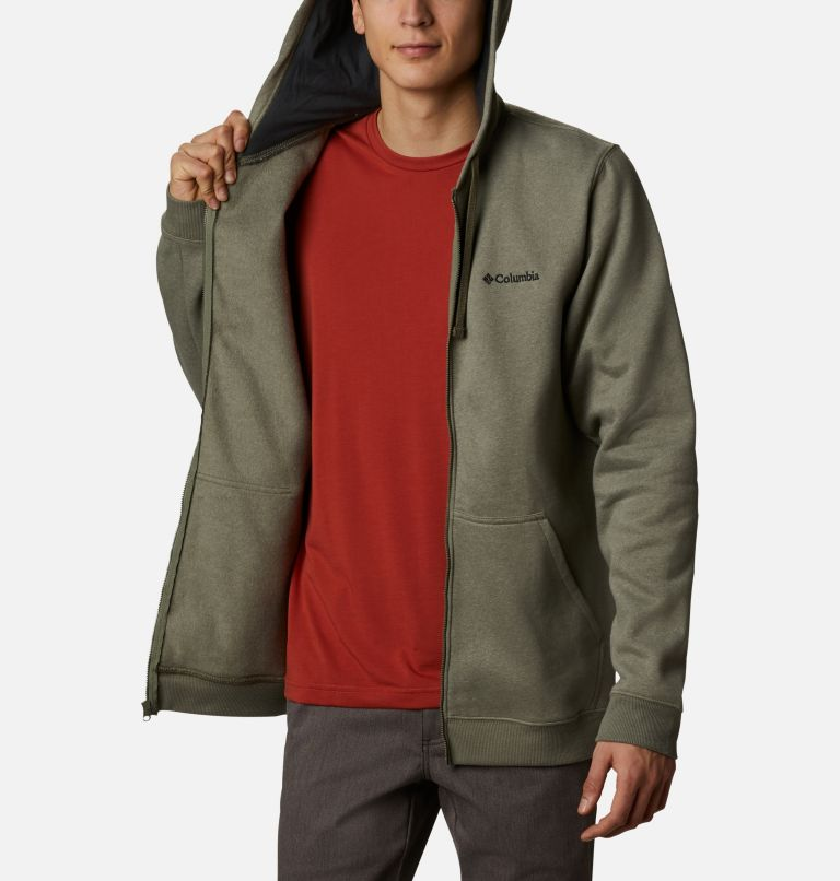 Hart Mountain™ Full Zip | 397 | S Men's Hart Mountain™ Full Zip Hoodie, Stone Green Heather, a3