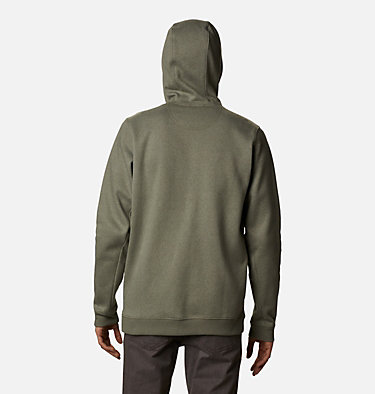 Men's Hart Mountain™ Full Zip Hoodie Hart Mountain™ Full Zip | 449 | XXL, Stone Green Heather, back