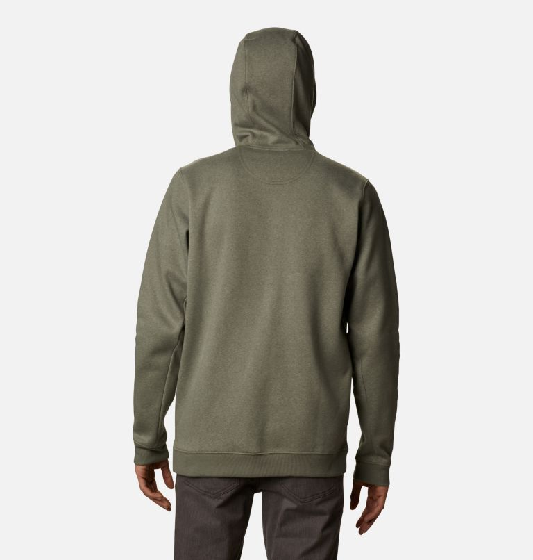 Hart Mountain™ Full Zip | 397 | S Men's Hart Mountain™ Full Zip Hoodie, Stone Green Heather, back
