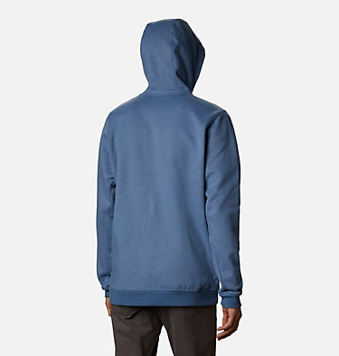 Men's Hart Mountain™ Full Zip Hoodie Hart Mountain™ Full Zip | 449 | XXL, Bluestone Heather, back