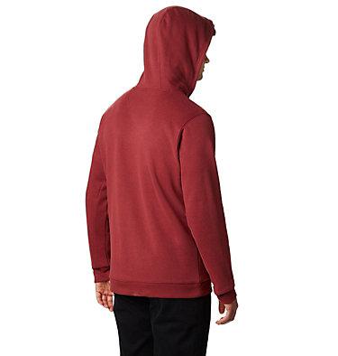 Men's Hart Mountain™ Full Zip Hoodie Hart Mountain™ Full Zip | 397 | M, Red Jasper Multi, back