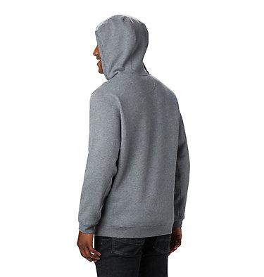 Men's Hart Mountain™Full Zip Hoodie - Big Hart Mountain™ Full Zip   449   3X, Charcoal Heather, back