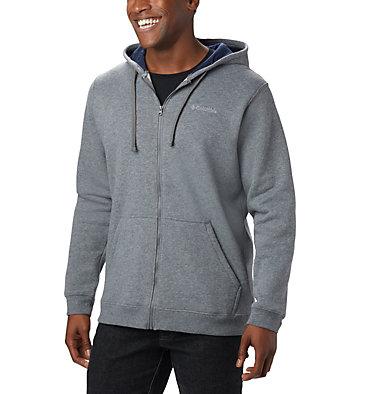 Men's Hart Mountain™Full Zip Hoodie - Big Hart Mountain™ Full Zip   449   3X, Charcoal Heather, front