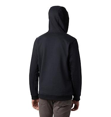 Men's Hart Mountain™Full Zip Hoodie - Tall Hart Mountain™ Full Zip | 449 | 2XT, Black, back