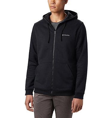 Men's Hart Mountain™Full Zip Hoodie - Tall Hart Mountain™ Full Zip | 449 | 2XT, Black, front