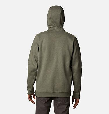 Men's Hart Mountain™Full Zip Hoodie - Tall Hart Mountain™ Full Zip | 449 | 2XT, Stone Green Heather, back