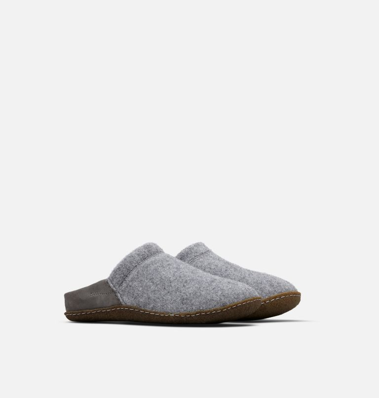 NAKISKA™ SCUFF | 052 | 9 Women's Nakiska™ Scuff Slipper, Quarry, Natural, 3/4 front