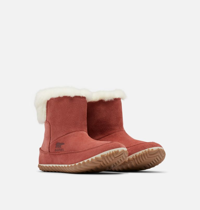 OUT N ABOUT™ BOOTIE | 677 | 11 Women's Out 'N About™ Bootie, Rose Dust, Natural, 3/4 front